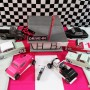 50's-rock-party-centerpiece-cars-2