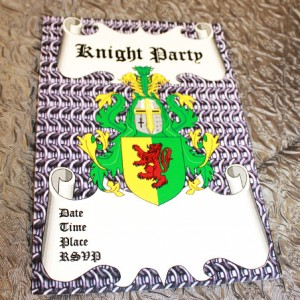 knights-party-invitations