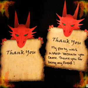 dragon's-lair-thank-you-cards