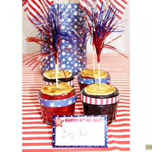 Stars-and-Stripes-Patterned Paper