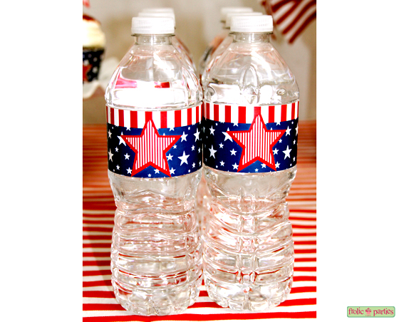 Stars-and-Stripes-Small Bottle Wrappers