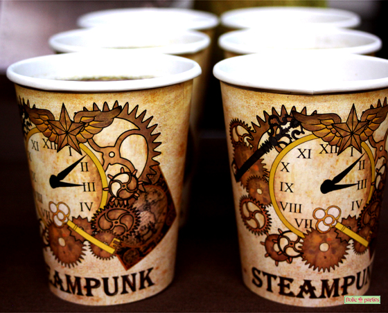 Steampunk Cup holders