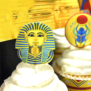 egyptian-party-cupcake-picks
