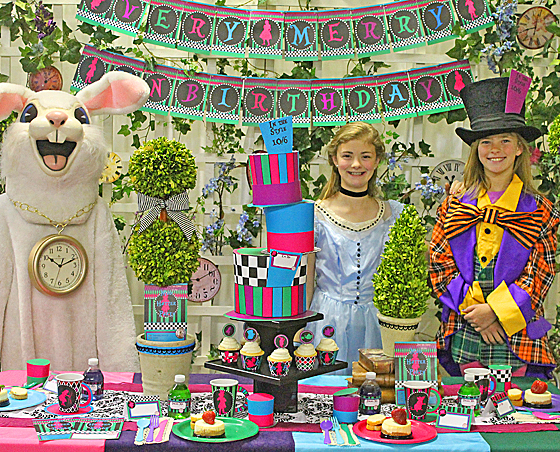 Mad Hatter Printable Party