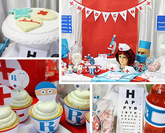 Young Medical Printable Party